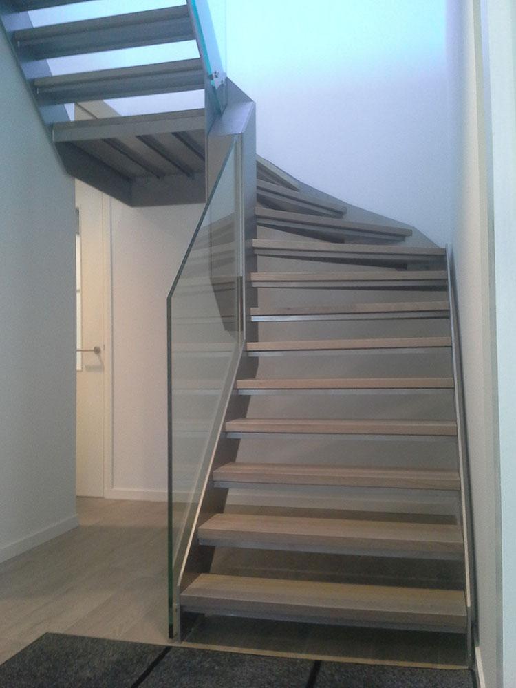Trappen en trapconstructies - Binnen trap ...